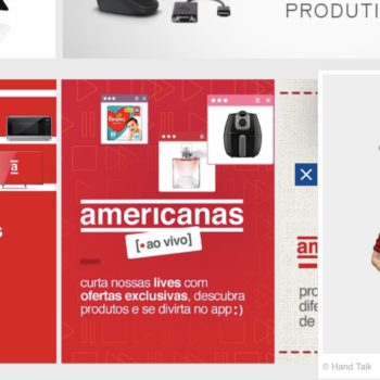 Americanas adota ICOM em site e app abrindo conexão direta com os surdos