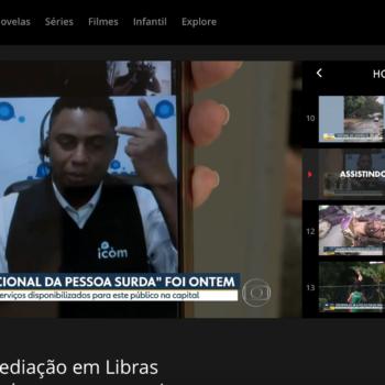 ICOM leva atendimento em Libras para Prefeitura de SP e é notícia na TV Globo